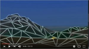 endless repetition of triangles